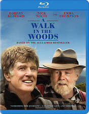 Walk in the Woods [Blu-ray] Robert Redford Nick Nolte EXCELLENT CONDITION