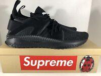 PUMA Tsugi Blaze Evoknit Sneaker, Black-Dark Shadow Black, 10 M US [364408-01]