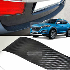 Carbon Rear Bumper Protector Decal Sticker Cover for HYUNDAI 2016-2017 Tucson TL