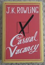 THE CASUAL VACANCY BY J.K. ROWLING (LITTLE BROWN, 2012, FIRST EDITION)