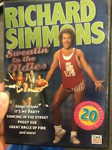 Richard Simmons : Sweatin' To The Oldies region 1 DVD (exercise / fitness)
