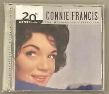 The Best of Connie Francis CD Millennium Collection 20th Century Masters