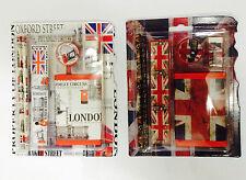 UNION JACK SCHOOL SET - LONDON SCENE SCHOOL SET - BRITISH SOUVENIRS GIFT PACK 2