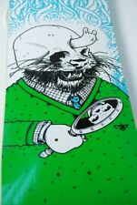 "Superfishal Series - Jeremy Fish x Travis Millard ""The Face"" Skateboard Deck"