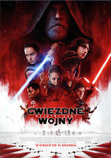 Mark Hamill Carrie Fisher - Star Wars The Last Jedi - Polish promo FLYER