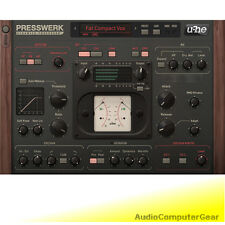 u-he Presswerk Dynamics Processor Compressor Audio Software Effects Plug-in New
