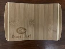 "Boars Head Bamboo Small Cutting Board - Size 6""x9"" New Cheese"