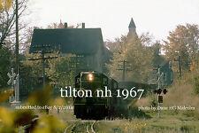 Boston & Maine RR  1571  Tilton NH 1967