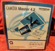 New listing Camedia Master 4.2 Software & Olympus C-765 Ultra Zoom Basic Manual
