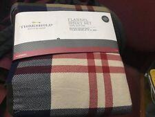 Threshold Flannel Sheet Set - Cotton Plaid Flannel - Queen