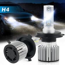 Bevinsee 60W H4 9003 LED Headlights Hi/Low Beam Kit 6000K 8000LM White 2x Bulbs