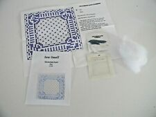 Needlepoint Victorian Lace Blue Kit 1:12th Scale