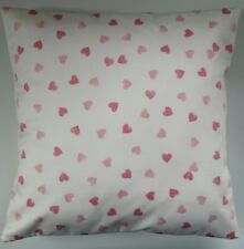 """Shabby Chic Cushion Cover in Emma Bridgewater Pink Hearts 16"""""""