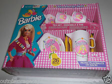 Vintage Barbie Tea Party 26 Piece Set - Brand New In Box Rare