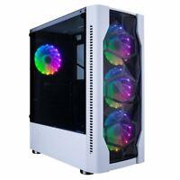 ULTRA FAST I5 QUAD CORE RGB PC Tower 8GB RAM 1TB HDD & Win 10 WIFI!