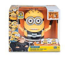 "Despicable Me 3 Minion Talking Jail Time Tom Figure Movie Toy 7.25"" Doll NEW!"