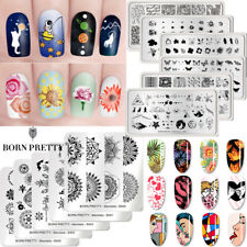 BORN PRETTY Nail Stamping Plates Nail Art Stamp Template Nails Decoration Tools