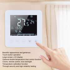 16A Home LCD Táctil Pantalla Termostato Digital Programable Móvil Remoto Control