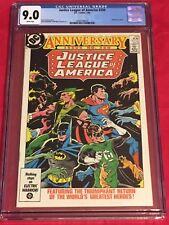 JUSTICE LEAGUE AMERICA 250 CGC 9  Batman Superman Green Arrow Lantern Conway 86
