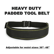 Tool Pouch Belt Quick Release Heavy Duty Padded Tool Belt For Work Trousers