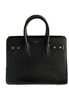 Saint Laurent Sac de Jour Souple Bag Leather Small Black.
