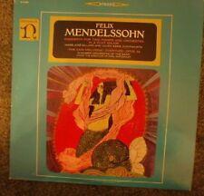 Mendelssohn: Concerto for two pianos; Fair Melusina Overture--Nonesuch H-71099