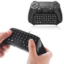 Bluetooth Wireless Keyboard Keypad For Sony PlayStation 4 PS4 Controller Black