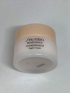 Shiseido Benefiance WrinkleResist24 Night Cream, 30 ML / 1 oz - As Pictured