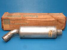 NOS GM Exhaust Resonator Muffler 1965 Pontiac Catalina Bonneville Wagon Dual Exh