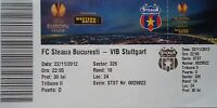 TICKET UEFA EL 2012/13 Steaua Bukarest - VfB Stuttgart