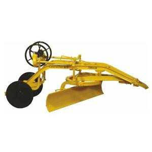 1/16 Caterpillar No. 1 Terracer Pull Grader w/ Black Wheels by SpecCast Cust1164