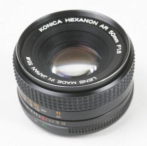 50MM 50/1.8 KONICA HEXANON AR/168455