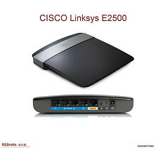 Refurbished Linksys Wi-Fi Router E2500 - 802.11n, 4xLAN - Kostenloser Versand!!!