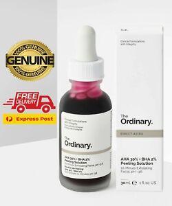 The Ordinary Peeling Solution 30ml AHA 30% + BHA 2% New Genuine product