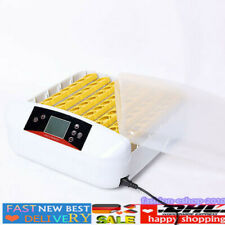 56 Eggs Incubator Temperature Control Hatcher Auto Turning Poultry Hatche DHL