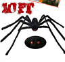 Halloween Decorations outdoor, 10Ft Giant Spider 120 Inch Largest&Furry Spider