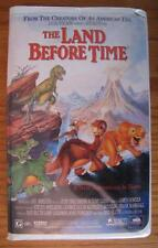 THE LAND BEFORE TIME VHS VIDEO 1996