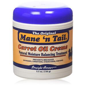 [MANE 'N TAIL] CARROT OIL CREME NATURAL MOISTURE BALANCING TREATMENT 5.5OZ