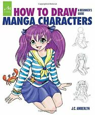 NEW - How to Draw Manga Characters: A Beginner's Guide by Amberlyn, J.C.