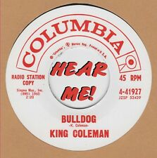 R&B REPRO: COLUMBIA 41927 – KING COLEMAN – BULLDOG / BLACK BOTTOM BLUES