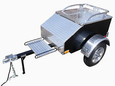 Tow Out Of The Shadow - Mini Pull Behind Motorcycle Cargo The USA Trailer Store