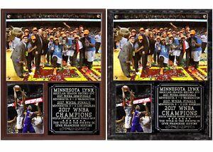 Minnesota Lynx 2017 WNBA Champions Photo Plaque Sylvia Fowles MVP