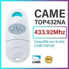 CAME - TOP432NA - Télécommande de portail / garage 2 canaux 433.92Mhz