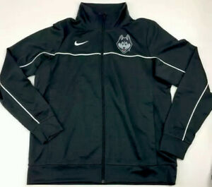 Nike Women's Uconn Huskies Warmup Suit Jacket & Pants Sz.M NEW AT5308/5305 black