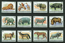Burundi 1982 African Animals Cat. €681 (missed stamp 85Fr) MNH #2026