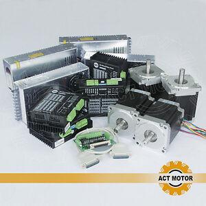 ACT Motor 4axis Nema34 34HS1456 stepper motor CNC KIT 1232oz.in 5.6A