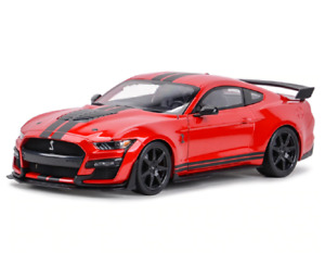 Maisto 1:18 2020 Ford Mustang Shelby GT500 Diecast Model Racing Car Red IN BOX