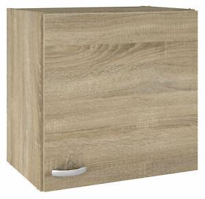 Pensile sospeso per arredamento kit cucina rovere legno  49x34x54h un anta 93660