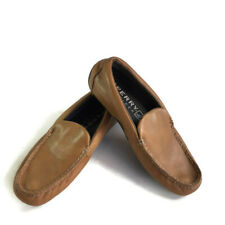 Sperry Top-Sider Men's Moccasin Moc Driving Loafers 8 Brown Leather Casual Dress