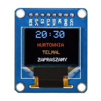 "Waveshare 0,95"" RGB OLED SSD1331 LCD Display Anzeige Arduino Modul"